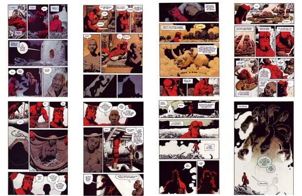 Hellboy: Makoma, Part 1, 24 pgs