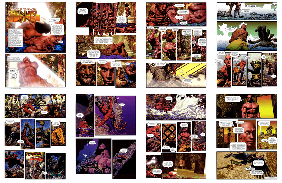 DenSaga Epilogue #4: The Light at the End of the Tunnel, 8 pgs