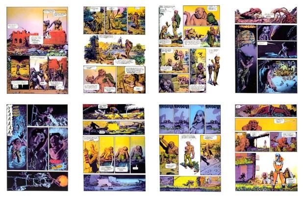 Mutant World, SPA, Part 3, 8 pgs