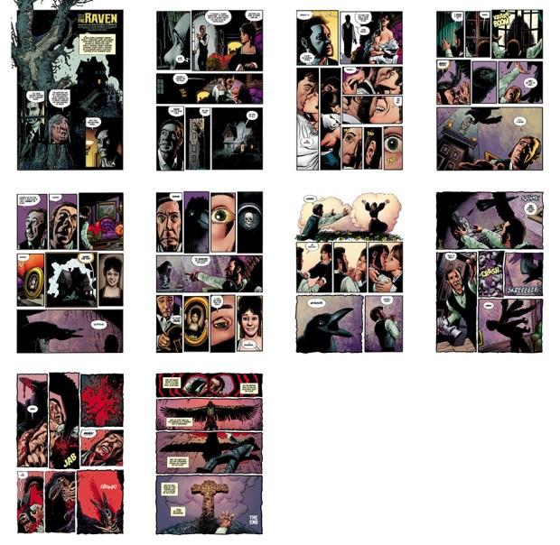 The Raven [III], 10 pgs