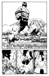 Hellboy: Makoma. Original Art Plate
