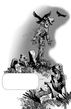 Shadows on the Grave Foreword #3
