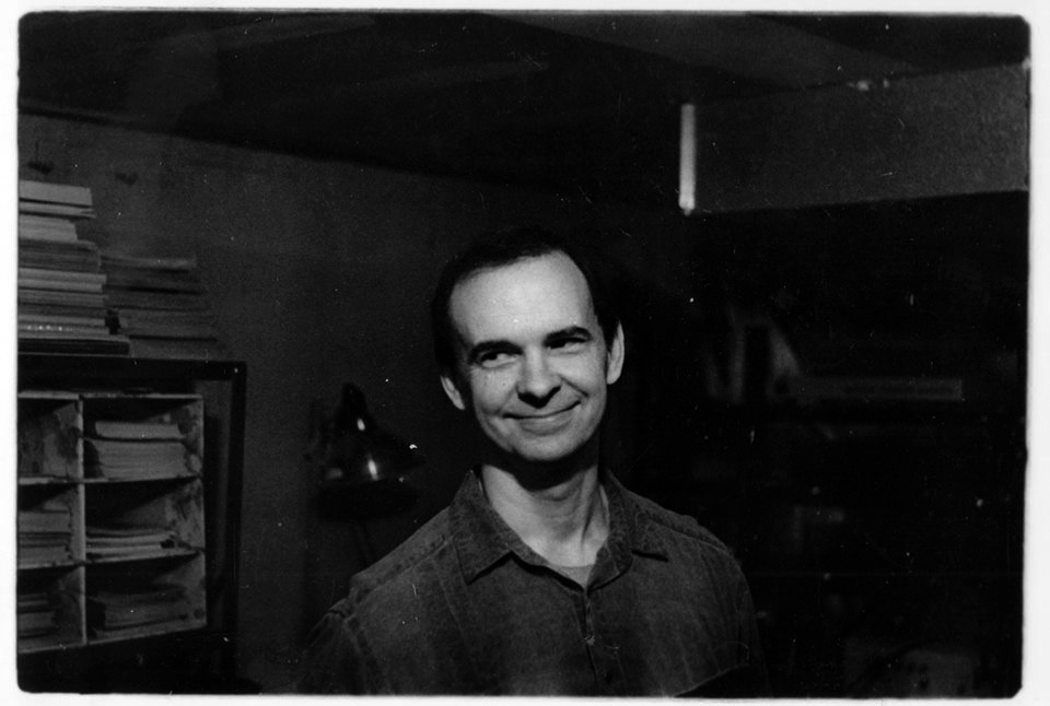 Richard Corben photographed by Stan Vince