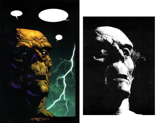 Cazador 15 vs. Corben sculpture