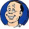 """""""Self Portrait Caricature, Smiling"""" (color)"""