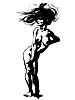 Wind Blown Nude