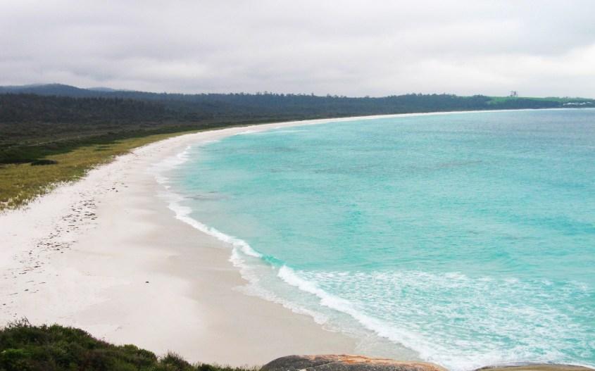 Tasmania kokemuksia   Bay of Fires