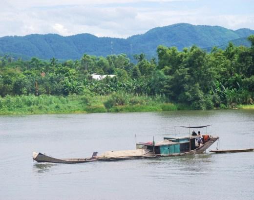 Parfyymijoella Huessa Vietnamissa