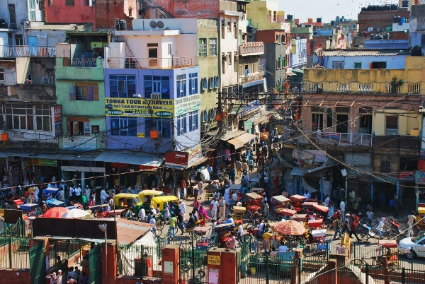 Delhi | Kokemuksia | Katukuvaa