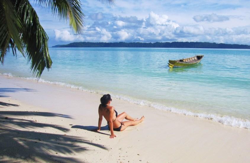 Chillailua Andamaaneilla – Havelock Island