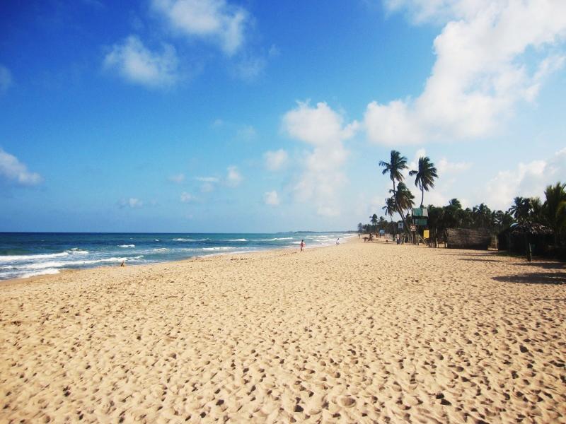 sri lankan itärannikon rantaa, nilaveli beach