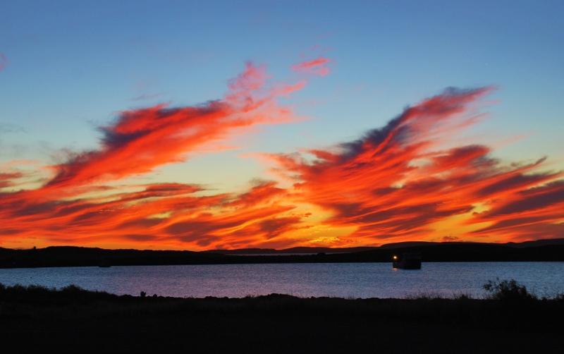Auringonlasku Dampierissa