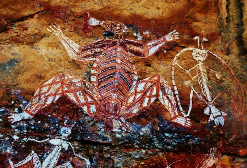 Aboriginaalien kalliomaalauksia