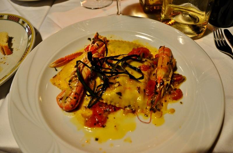 Italialaisessa ravintolassa