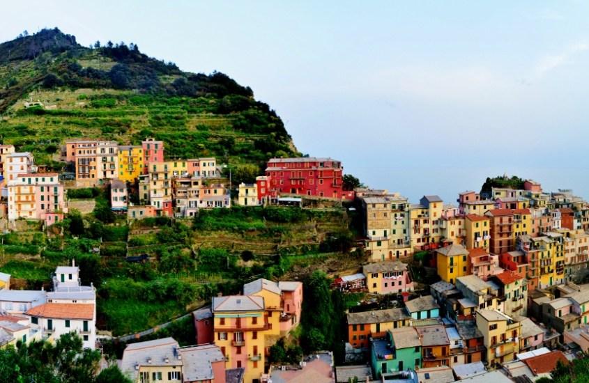 Cinque Terren viisi pientä kylää