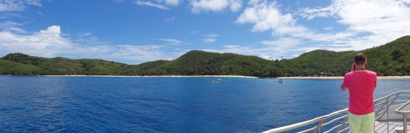 Saarihyppely Fijillä