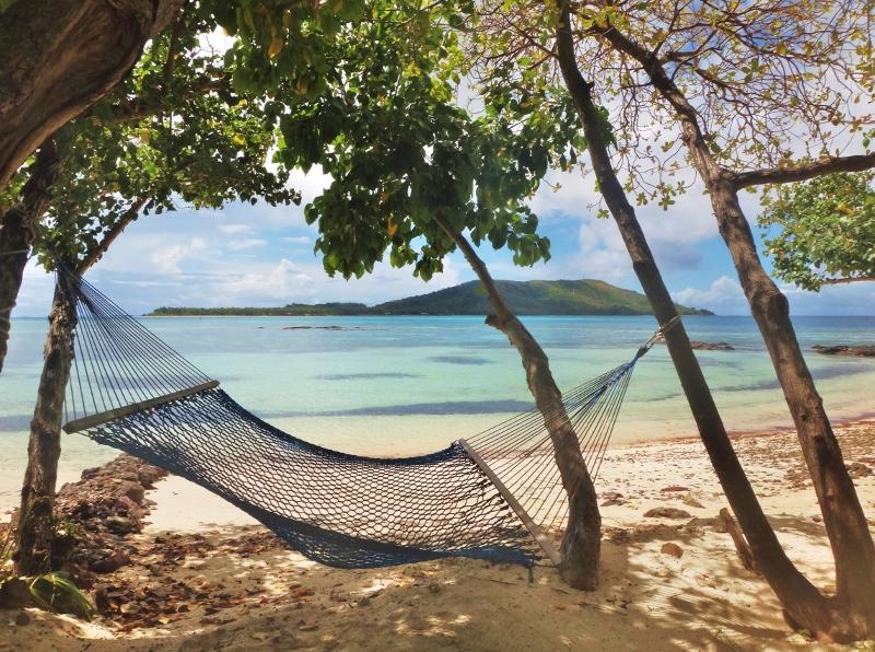 Riippumatto rannalla, Fidzi