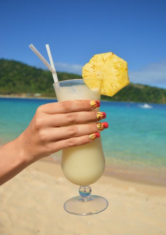 Cocktaileja rannalla