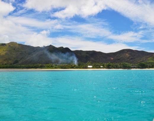 Fidzin Yasawa -saarten Blue Lagoon