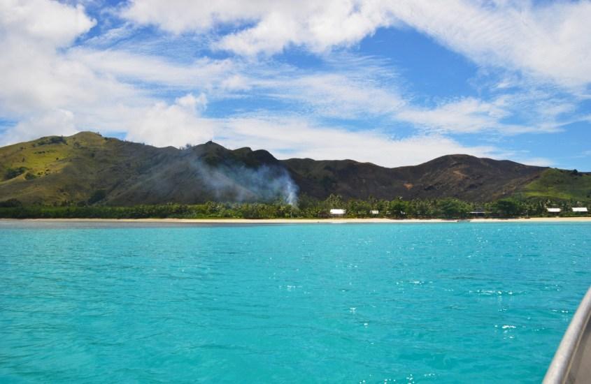 Fidzin Yasawa-saarten Blue Lagoon