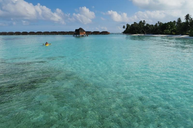 Overwater Bungalow, Meeru Island Resort, Malediivit