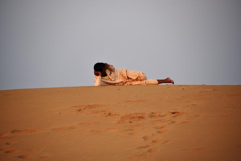 Kamelisafarilla Jaisalmerissa