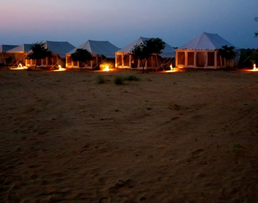 glamping intia