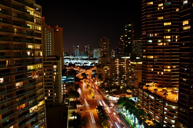 Honolulun pilvenpiirtäjiä