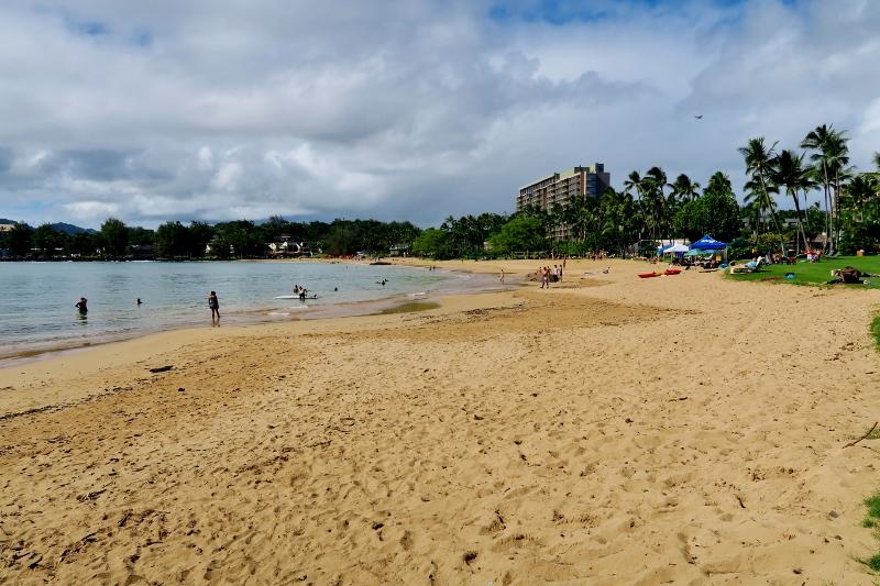 Rantaa Kauailla Havaijilla