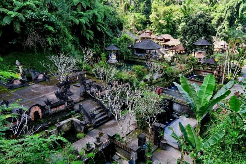 Gunung Kawi Sebatu temppeli Balilla