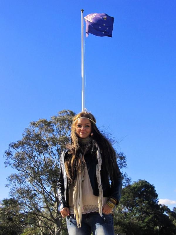 Australian lippu ja minä