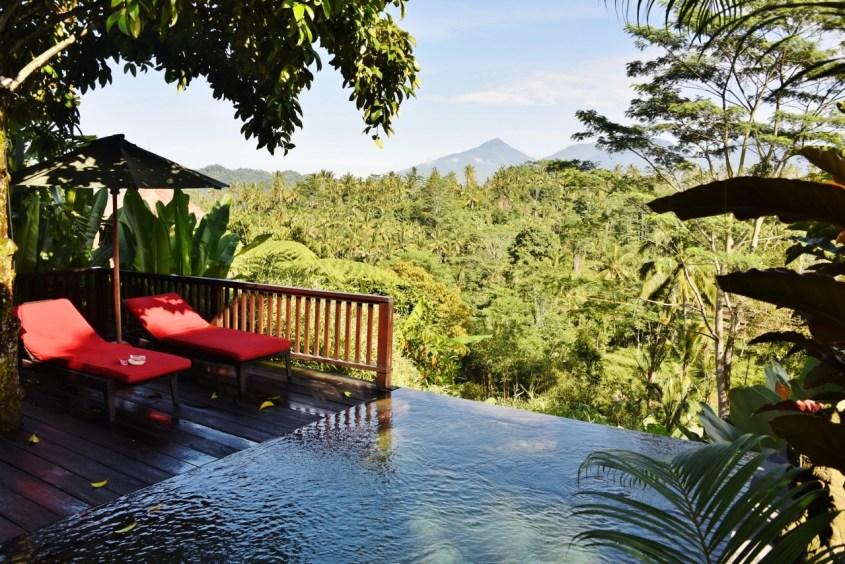 Villa majoitus Ubud, Bali