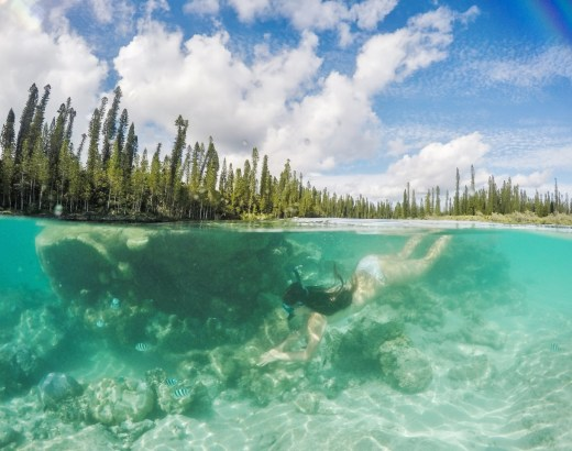 Luonnon uima-allas, Isle of Pines, Uusi-Kaledonia