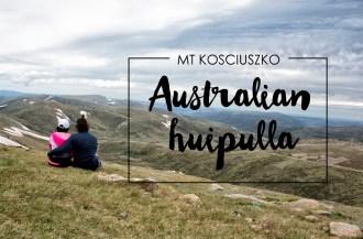 Mt Kosciuszko, Thredbo - Australian huipulla