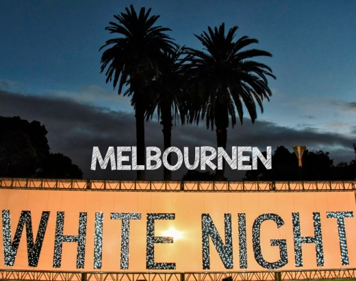 Melbournen White Night