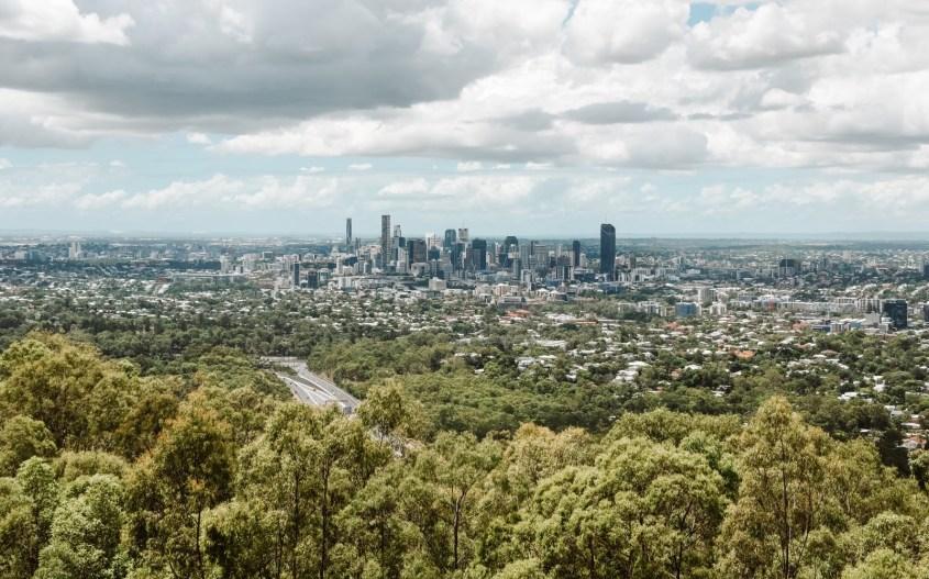 Brisbane nähtävyydet   Mt Coot-tha