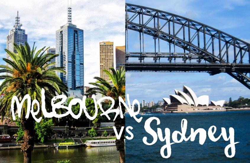 Melbourne vai Sydney?