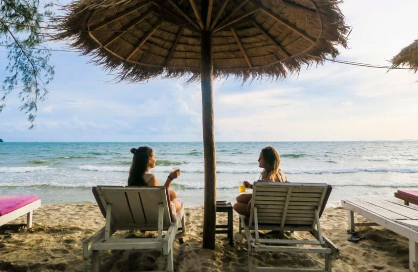 Sihanoukville – pina colada tai viisi Otres Beachillä