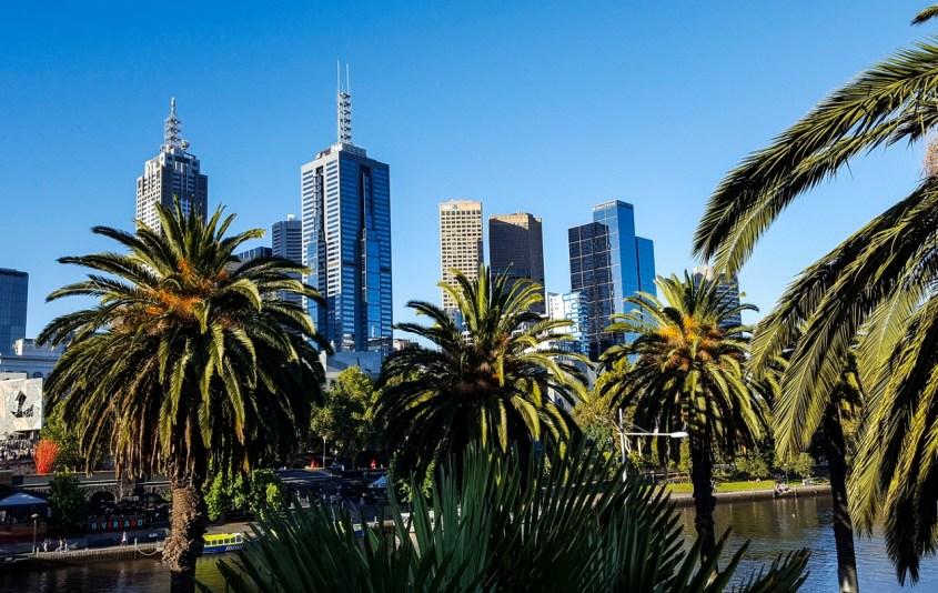 Melbourne ja korona | Melbournen kaupunkikuvaa