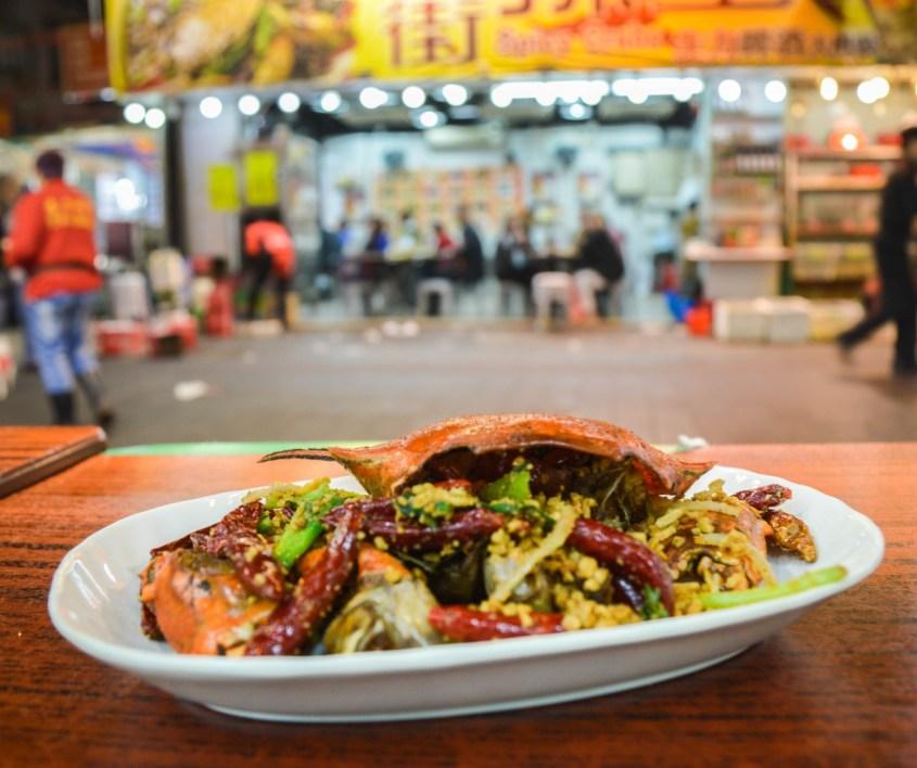 Hongkong ravintolat | Spicy crab
