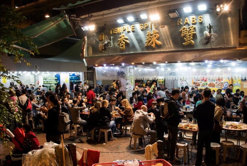 Hongkong ravintolat | Temple street