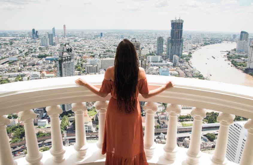 Bangkokin Lebua Tower ja Sky Bar – kannattiko?