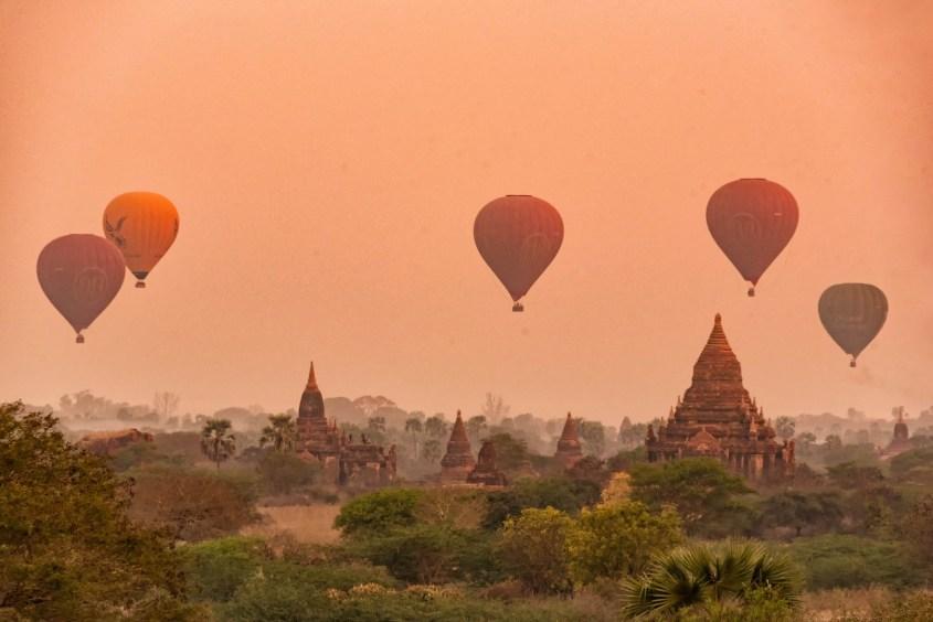 Bagan | Kuumailmapallot