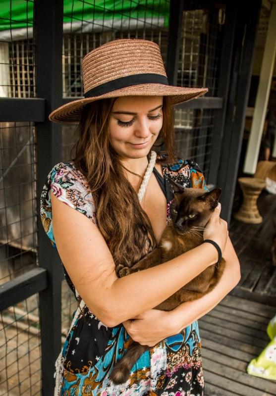 Burmalainen kissakylä