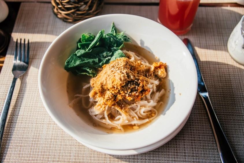 Myanmar ruoka | Shan-nuudelit
