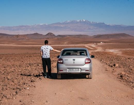Autolla Marokkoon