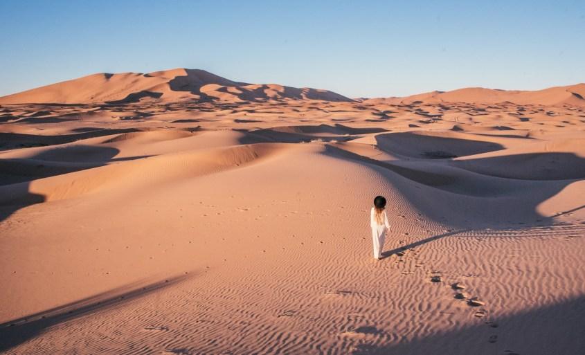 Saharan aavikolla