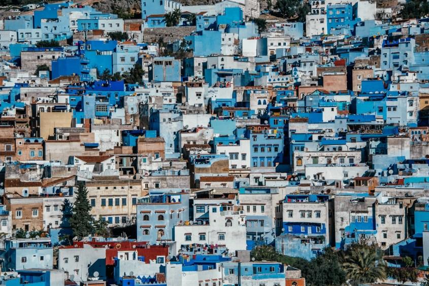 Marokon matka | Parhaat kohteet | Chefchaouen