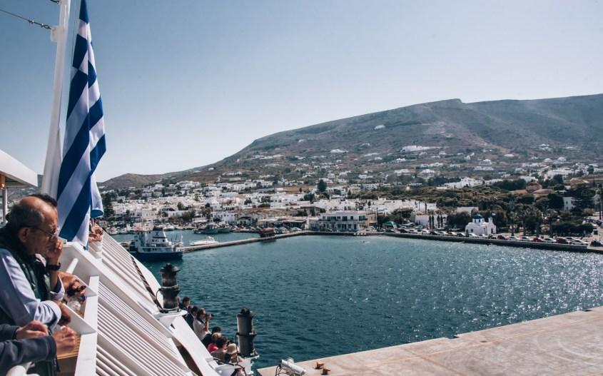 Kreikka saarihyppely | Lautta