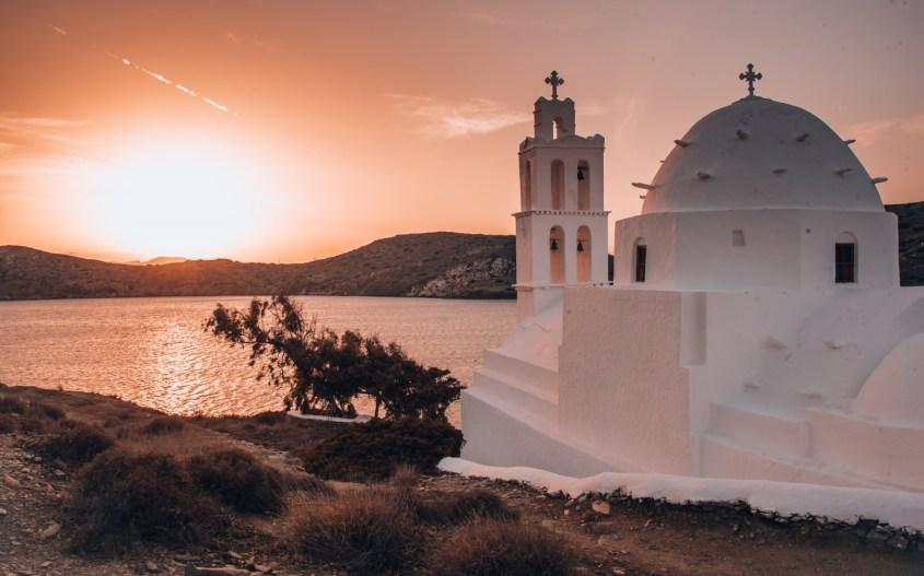 Agia Irini kirkko, Ios